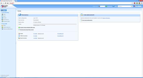 VPS: il primo accesso al pannello e le possibilità di configurazione