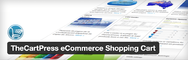 TheCartPress eCommerce Shopping Cart Plugin WordPress