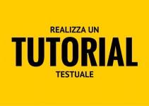 tutorial testuale