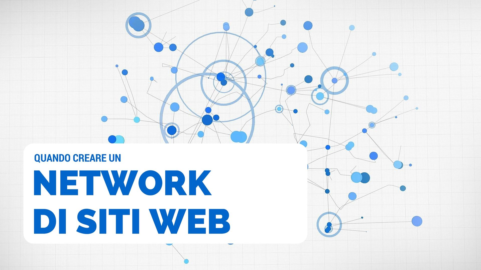 Network di siti web