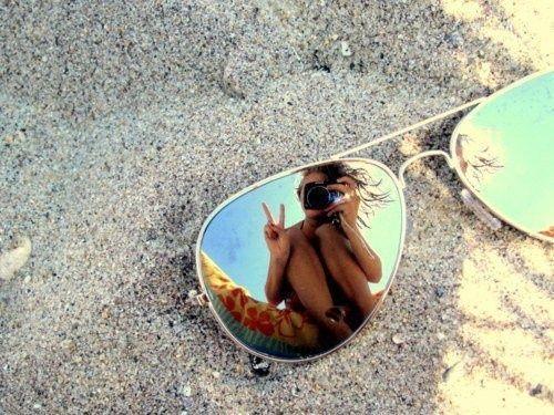 selfie occhiali da sole