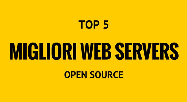 migliori web servers open source