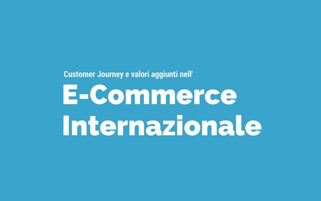 ecommerce internazionale