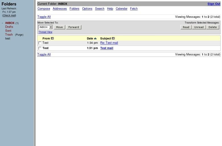 Alternative a Gmail Squirrelmail
