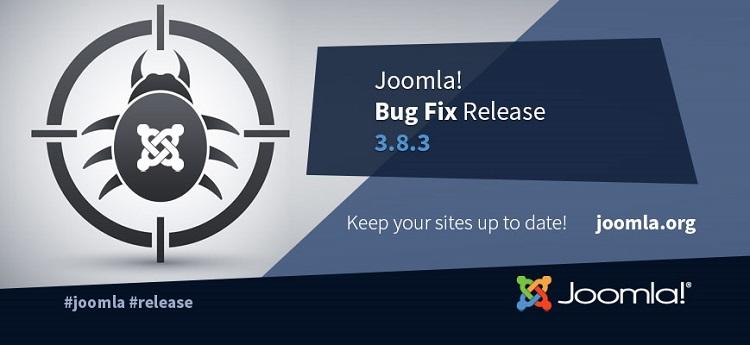 È disponibile Joomla! 3.8.3 con compatibilità al PHP 7.2