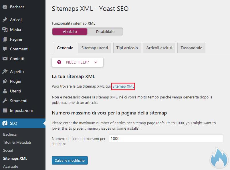 SEO Yoast Guida Completa Sitemaps XML Generale