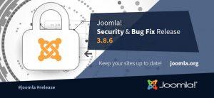 Joomla! 3.8.6 risolta una vulnerabilità di sicurezza e oltre 60 bug