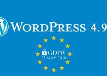 WordPress 4.9.6: Privacy e altre novità