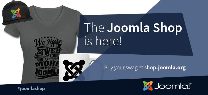 È online lo shop di Joomla! magliette, tazze, cover per smartphone e molto altro ancora