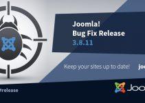 Joomla! si aggiorna alla versione 3.8.11 35 correzioni di bug e altri miglioramenti