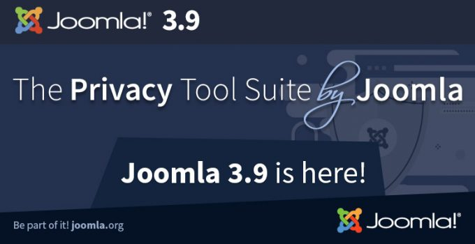 Joomla! 3.9 disponibile al download