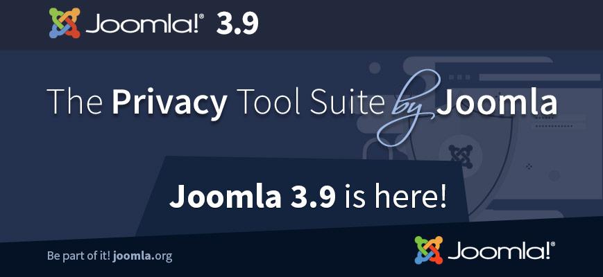 Joomla! 3.9 disponibile al download