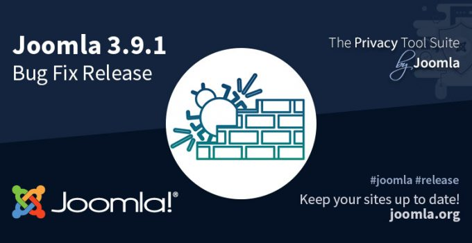 Joomla! 3.9.1 disponibile migliori performance per la gestione delle categorie