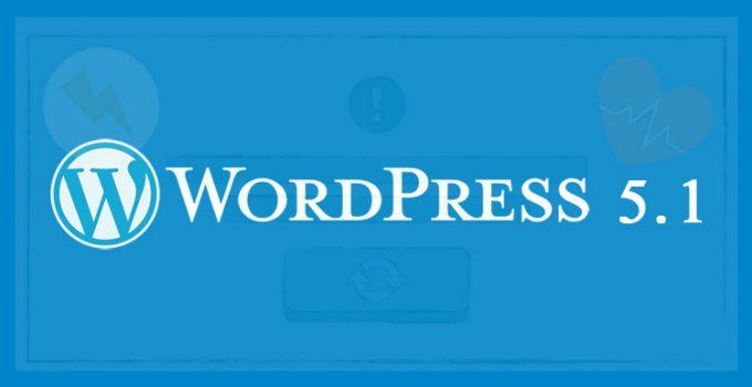WordPress 5.1: nuova funzione di verifica PHP