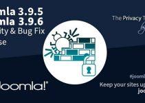 Joomla 3.9.5 e Joomla 3.9.6, nel giro di pochi giorni due nuove versioni del famoso CMS