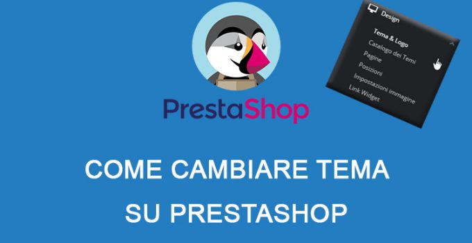 Come cambiare tema su PrestaShop