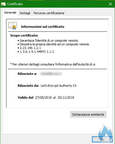 Certificato HTTPS Dettaglio 2