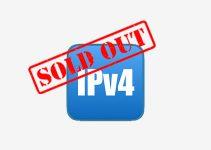 Il Ripe ha finito gli indirizzi IPv4