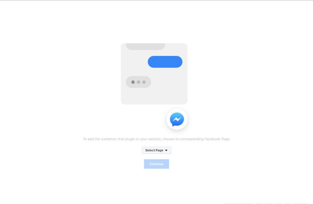 The Social Facebook Chat - Selezione pagina Facebook nelle impostazioni